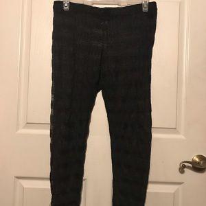 New Leggings Black Lace Size 2, Torrid